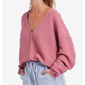 FREE PEOPLE Seamed Oversize Sweater